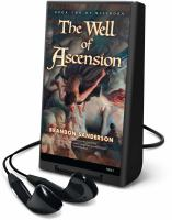 Cover image for The well of ascension. bk. 2 Mistborn series