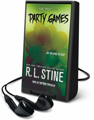 Cover image for Party games [Playaway] : a Fear Street series