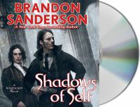 Cover image for Shadows of self. bk. 5 Mistborn series
