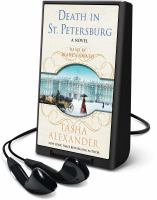 Cover image for Death in St. Petersburg. bk. 12 [Playaway] : Lady Emily mystery series