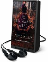 Cover image for The English wife [Playaway]