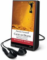 Cover image for Cause of death. bk. 7 Kay Scarpetta series