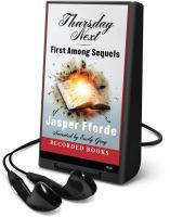 Cover image for First among sequels. bk. 5 Thursday Next series