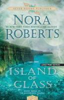 Cover image for Island of glass. bk. 3 [large print] : Guardians trilogy