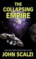Cover image for The collapsing empire [large print]