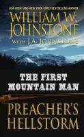 Cover image for Preacher's hellstorm. bk. 23 [large print] : First Mountain man series