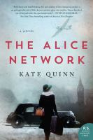 Cover image for The Alice Network [large print]