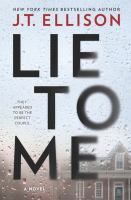 Cover image for Lie to me [large print] : a novel