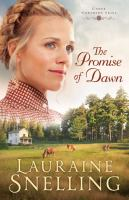 Cover image for The promise of dawn. bk. 1 [large print] : Under northern skies series