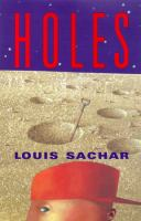 Cover image for Holes [large print]