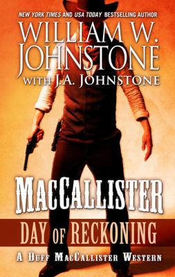 Cover image for Day of reckoning. bk. 7 [large print] : Duff MacCallister, the eagles legacy series