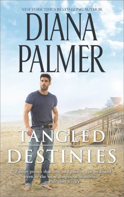 Cover image for Tangled destinies [large print]