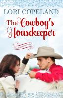 Cover image for The cowboy's housekeeper [large print]