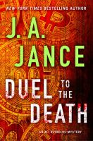 Cover image for Duel to the death. bk. 13 [large print] : Ali Reynolds series