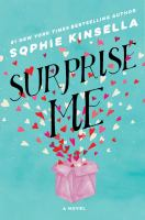 Cover image for Surprise me [large print]