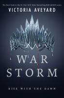 Cover image for War storm. bk. 4 [large print] : Red Queen series