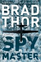 Cover image for Spymaster. bk. 17 [large print] : Scot Harvath series