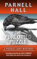Cover image for The purloined puzzle. bk. 19 [large print] : Puzzle Lady mystery series
