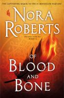 Cover image for Of blood and bone. bk. 2 [large print] : Chronicles of the One series