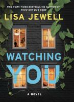 Cover image for Watching you [large print]