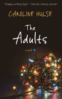 Cover image for The adults [large print]