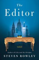 Cover image for The editor [large print]