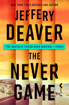 Cover image for The never game. bk. 1 [large print] : Colter Shaw series