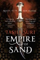 Cover image for Empire of sand. bk. 1 [large print] : Books of Ambha series
