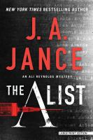 Cover image for The A list. bk. 14 [large print] : Ali Reynolds series