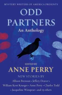 Cover image for Odd partners [large print] : an anthology