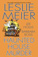 Cover image for Haunted house murder [large print]
