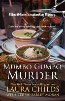 Imagen de portada para Mumbo gumbo murder. bk. 16 [large print] : Scrapbooking mystery series