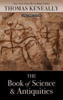 Imagen de portada para The book of science and antiquities [large print] : a novel