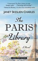 Imagen de portada para The Paris library [large print]