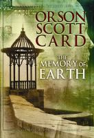 Cover image for The memory of Earth. bk. 1 Homecoming series