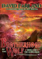 Cover image for Brotherhood of the wolf. bk. 2 Runelords series