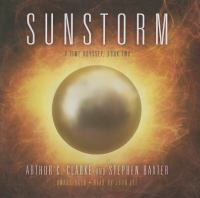 Cover image for Sunstorm. bk. 2 [sound recording CD] : Time odyssey series