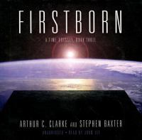 Cover image for Firstborn. bk. 3 [sound recording CD] : Time odyssey series