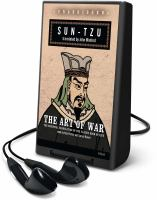 Cover image for The art of war [Playaway] : the essential translation of the classic book of life