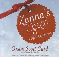 Cover image for Zanna's gift [sound recording CD]