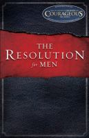 Cover image for The resolution : for men