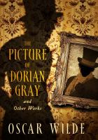 Cover image for The picture of Dorian Gray and other works