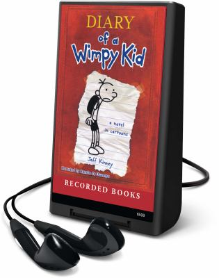 Cover image for Diary of a wimpy kid [Playaway] : Greg Heffley's journal