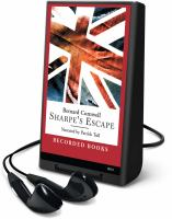 Cover image for Sharpe's escape. bk. 10 Richard Sharpe series