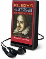 Imagen de portada para Shakespeare the world as stage