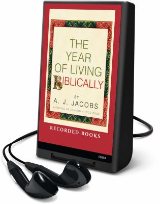 Cover image for The year of living biblically One man's humble quest to follow the Bible as literally as possible