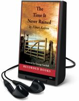 Cover image for The time it never rained