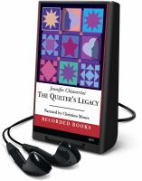 Cover image for The quilter's legacy. bk. 5 Elm Creek quilts series