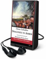 Imagen de portada para Dragonfly in amber. bk. 2 Outlander series
