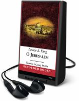 Cover image for O Jerusalem. bk. 5 Mary Russell / Sherlock Holmes series